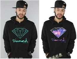 Wholesale Hottest Autumn Winter Hip hop Diamond Supply Co Sweatshirts Big Size Sport Mens Hoodie Casaco Hoodies Sweatshirts AMY12