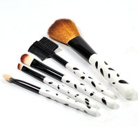 Wholesale 5pcs Makeup Beauty Brushes Cosmetic Kit Powder Eyebrow Blush Brush