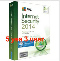Wholesale 2013 hot sales AVG Internet Security Antivirus Software Years PC fastest shipping best after sale services