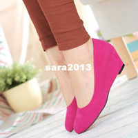Wholesale colors for option new arrive fashion sweet Casual high heel shoes for women ST12