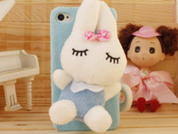 Wholesale new plush iPhone4s phone shell A0002