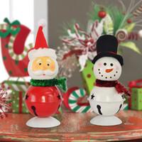metal ornaments - Santa snowman Christmas ornament metal ornaments Christmas gift doll doll gift for children