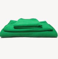 Wholesale 2 set Towel Set Soft Microfiber Bath Sheet Beach Towe bath hand wash