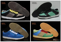 Wholesale Colours Low SB Men s Skateboard Sport Footwear Sneakers Trainers Shoes Colours