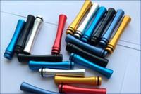 Wholesale Hotsaling Metal Long aluminum drip tips for e cigarette E Cig kanger protank cc tank Vivi Nova tanks CE4 CE5 DCT T2 tank T3 clearomizer