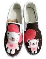 Wholesale Fashion Bear TPR Sole Painted Shoes winter r31 u12 ow2