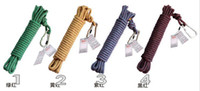 Static and Rescure Rope climbing rope - 50M lb Climbing rope Outdoor sports tool Climbing Parachute Cord Nylon Safety Rope with metal safety key