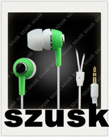 Mp3 Inear Earbuds No Mic Earphones with Retail Bag Packing I...
