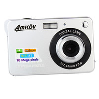 Silver / Gray 10.0 - 20.0MP 2x - 7x New HD Digital Camera 16MP Zoom Smile Capture Anti-shake Video Camcorder Silver E9010D
