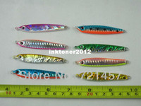 other   Lead 20g 30g 7cm Fish Shaped Fishing Bait 8 Pcs # GT01