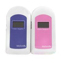 beat detector - BABYSOUND B LCD Pocket Fetal BABY Heart Beat Ultrasonic Detector Doppler Monitor CE FDA Approved