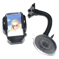 Cheap S5Q Universal Car Windshield Holder Cradle Mount for Mobile Phone iPod iPhone 4S AAAART