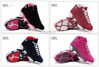 Wholesale Colours Retro XIII Suede Women s Basketball Sport Footwear Sneakers Trainers Shoes Colours