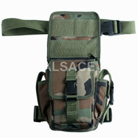 Wholesale Outdoor Tactical gear Polyester Wargame and Airsoft equipement ALW Universal Utility Thigh Pouch