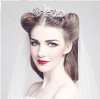 Crown Rhinestone/Crystal  NEW Gorgeous High quality Wedding Bridal crystal veil tiara crown headband