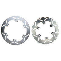 Wholesale new motorcycle Front and Rear Brake Disc Rotor For YAMAHA XJ DIVERSION S N