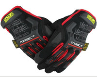 Wholesale new sale MECHANIX Wear Tactical Gloves for Combat Work Army Military Racing Leather Motocross Gloves Colors S XL hot