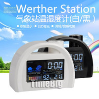 other   Led color screen alarm clock gift weather station alarm clock