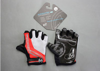 Wholesale Hot outdoor Cycling gloves mountain biking gloves damping Half finger gloves qjq422