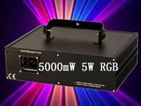 Blue american dj laser lights - 5000mW W kpps RGB full color Animation DMX ILDA DJ Party Disco Club Bar Stage Laser Lighting american dj light