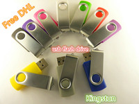 Wholesale GB swivel custom USB Flash Memory Pen Drives Sticks Disks Discs GB USB Pendrives Thumbdrives0065A