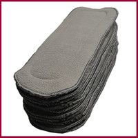 Babyland 5 layers bamboo charcoal inserts for baby diaper, fr...