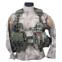 Wholesale Outdoor Tactical gear Polyester Wargame and Airsoft equipement ALV C Q B Tactical Vest