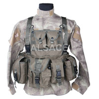 Wholesale Outdoor Tactical gear Polyester Wargame and Airsoft equipement ALV M O D Tactical Vest
