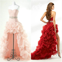 2014 Customer Made Ball Gown Prom Dress Hot Sell Beading Ele...