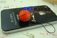 Wholesale Basketball Phone Chain Key Rings Key Chain Car Keyring Phone Accessories Promotion Gift Cell Phone Straps amp Charms
