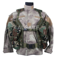 Wholesale Outdoor Tactical gear Polyester Wargame and Airsoft equipement ALV S P E A R Tactical Vest