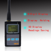 Frequency Counter 230g Black Digital Frequency Counter Black Handheld LCD Display For 2-way Radio Walkie Talkie Portable Mini Frequency Counter