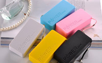 Direct Chargers Universal 5600mAh 5600mah Perfume Phone Power Bank Emergency External Battery Charger panel USB for All Mobile phones