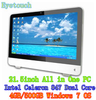 Wholesale NEW HOT SELL factory support custom desktop computers all in one pc inch desktop computer with touch screen wifi GB HDD GB RAM