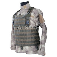 Wholesale Outdoor Tactical gear Polyester Wargame and Airsoft equipement ALV Reconissance Tactical Vest