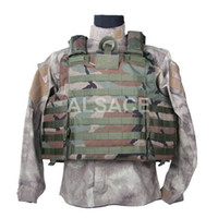 Wholesale Outdoor Tactical gear Polyester Wargame and Airsoft equipement ALV C I R A S Plate Carrier MOLLE