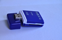 Wholesale Card Reader ALL in ONE USB High Speed Memory Card Reader USB MMC Mini Micro SD SDHC TF M2