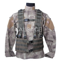 Wholesale Outdoor Tactical gear Polyester Wargame and Airsoft equipement ALV MOLLE SEAL Tactical Vest