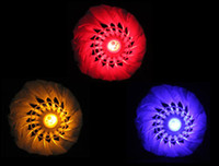 Wholesale Brand New Dark Night Glow LED Badminton Shuttlecock Birdies Lighting Indoor Sports Flash Colors