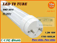 Wholesale X50 FEDEX FREE SHIPPPING W W W T8 LED Tube SMD LM Light Lamp Bulb feet m AC V lights led lighting year warranty
