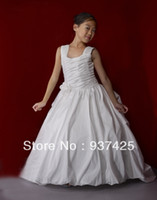 Reference Images Baby Ball Gown customize simple flower girls ball gown dresses for wedding strap sleeveless corset style appliques evening dresses floor length