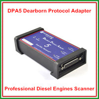 Wholesale Factory Price Professional Truck Diagnostic Tool DPA5 Dearborn Portocol Adapter Heavy Duty Truck Scanner Without Bluetooth