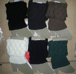 Knited leg warmers Tight LEG CORVER Sexy Socks boot cover 20 pairs lot #3473