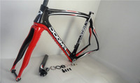 Wholesale 2014 latest Asymmetric electronic Pinarello Dogma65 Think2 Nero carbon road bike bicycle frame red and black color