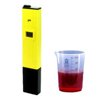 Wholesale S9Q Digital Led Display PH Pen Test Meter Aquarium Hydroponics Probe Tool Tester AAAAEL