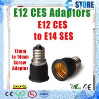 Cheap copper E14 to E12 Best E14 to E12 E14 lamp holder  lamp base