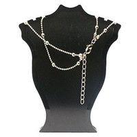 Wholesale S5Q New Fashion Jewelry South Korea Beautiful Angel Double Graceful Ankle Chain AAAAZZ