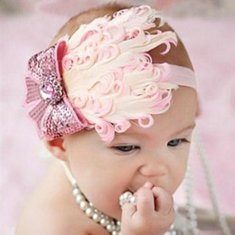 Wholesale S5Q Hot Selling Cheap baby hair accessories with headband and tree peony flower children Headband AAABHV