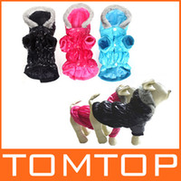 Coats, Jackets & Outerwears Fall/Winter Chirstmas Waterproof Warm Pet Dog Clothes Apparel Hoodie Hooded Coat for Winter H9994