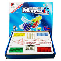 Wholesale Magnetic Building Toy set Intellectual Magnetic Blocks Toy Children Educational Toy Christmas Gift